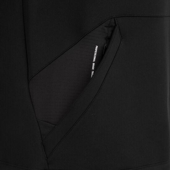 Pro Fleece Kapuzenpullover herren, schwarz / weiß, zoom bei OUTFITTER Online