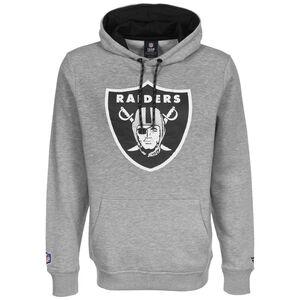 NFL Las Vegas Raiders Iconic Back to Basic Kapuzenpullover Herren, grau / schwarz, zoom bei OUTFITTER Online