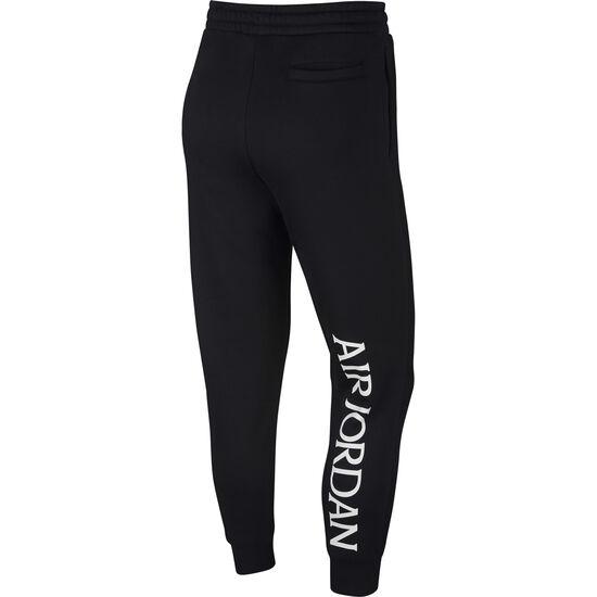 Classics Fleece Jogginghose Herren, schwarz / weiß, zoom bei OUTFITTER Online