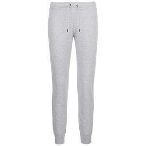 Essential Fleece Jogginghose Damen, grau / weiß, zoom bei OUTFITTER Online