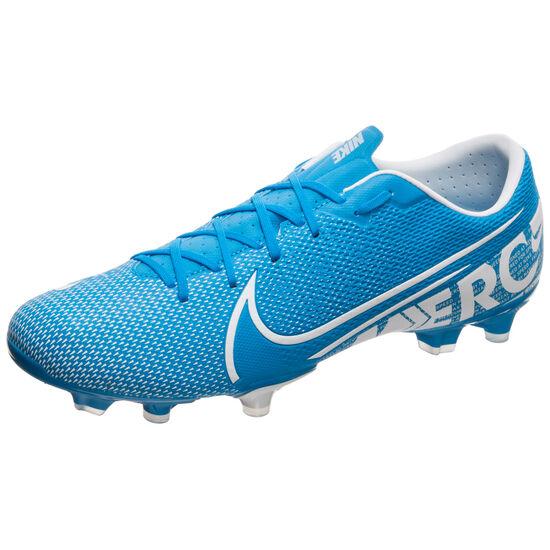 Mercurial Vapor XIII Academy MG Fußballschuh Herren, blau / weiß, zoom bei OUTFITTER Online