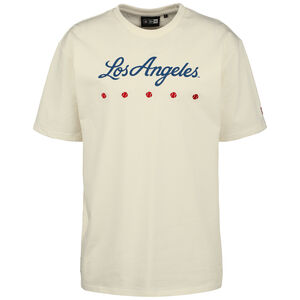 MLB Los Angeles Dodgers Heritage Oversized T-Shirt Herren, weiß / blau, zoom bei OUTFITTER Online