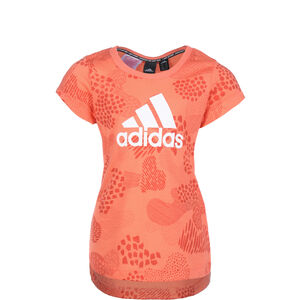Must Haves Graphic Trainingsshirt Kinder, orange / weiß, zoom bei OUTFITTER Online