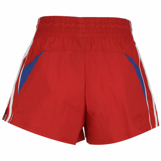 Colorblocked 3-Stripes Short Damen, rot, zoom bei OUTFITTER Online