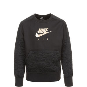 Air Fleece Top Sweatshirt Kinder, schwarz / gold, zoom bei OUTFITTER Online