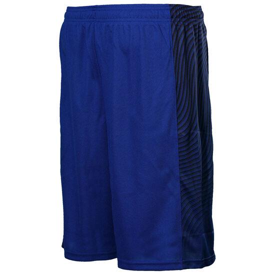 SC30 Doppler Basketballshort Kinder, blau / gelb, zoom bei OUTFITTER Online