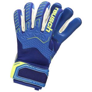Attrakt Freegel G3 Finger Support Torwarthandschuh Herren, blau / gelb, zoom bei OUTFITTER Online