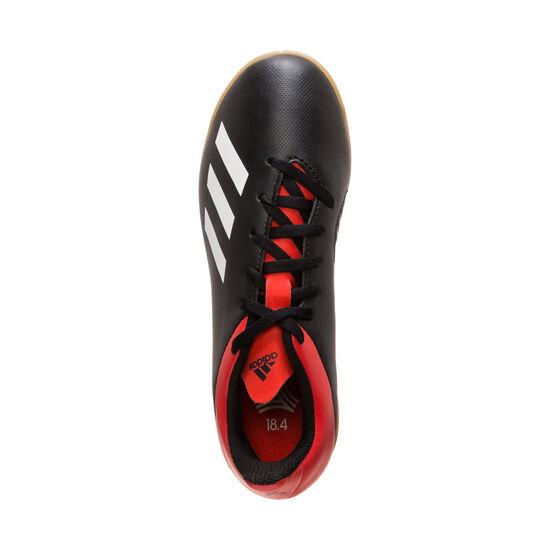 X 18.4 Indoor Fußballschuh Kinder, schwarz / rot, zoom bei OUTFITTER Online
