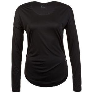 City Sleek Top Lauflongsleeve Damen, schwarz / silber, zoom bei OUTFITTER Online
