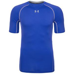 HeatGear Armour Compression Trainingsshirt Herren, Blau, zoom bei OUTFITTER Online