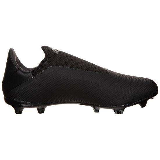 X 19.3 LL FG Fußballschuh Herren, schwarz / silber, zoom bei OUTFITTER Online