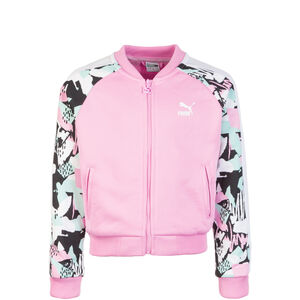Classics T7 AOP Track Jacke Kinder, rosa / schwarz, zoom bei OUTFITTER Online