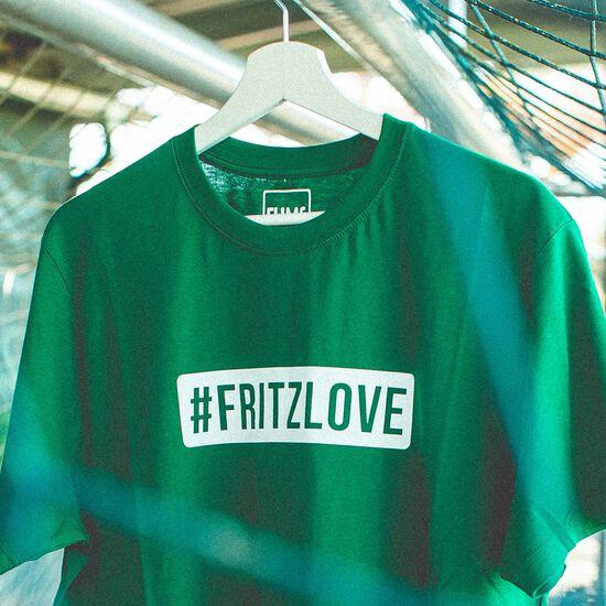 FUMS FRITZLOVE T-Shirt, grün / weiß, zoom bei OUTFITTER Online