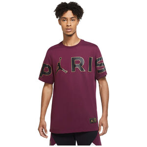 Paris St.-Germain Wordmark T-Shirt Herren, bordeaux / schwarz, zoom bei OUTFITTER Online