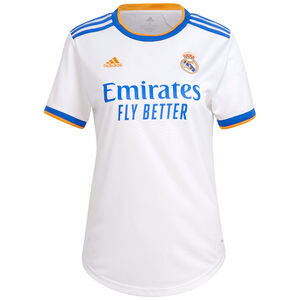Real Madrid Trikot Home 2021/2022 Damen, weiß / blau, zoom bei OUTFITTER Online
