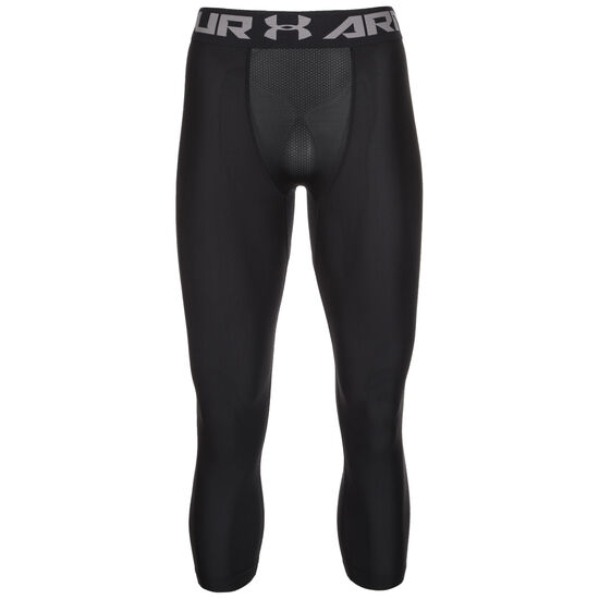 HeatGear Armour 2.0 3/4 Trainingstight Herren, schwarz / grau, zoom bei OUTFITTER Online