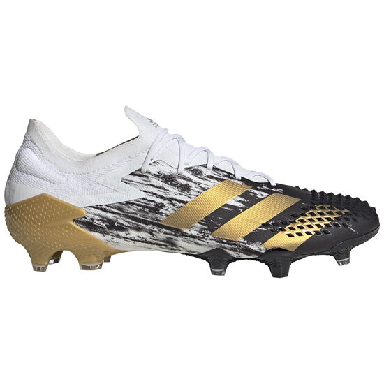 Predator 20.1 L FG Fußballschuh Herren, weiß / gold, zoom bei OUTFITTER Online