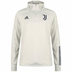 Juventus Turin Kapuzenpullover Herren, hellgrau / dunkelblau, zoom bei OUTFITTER Online