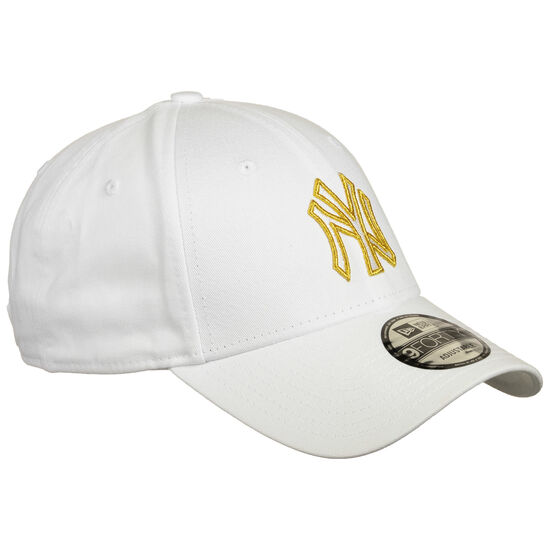NBA New York Yankees Metallic Logo 9Forty Snapback Cap, , zoom bei OUTFITTER Online