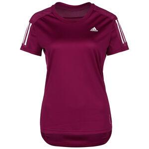 Own The Run Laufshirt Damen, weinrot / weiß, zoom bei OUTFITTER Online