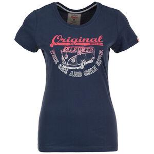 Original Ride T-Shirt Damen, dunkelblau / rot, zoom bei OUTFITTER Online