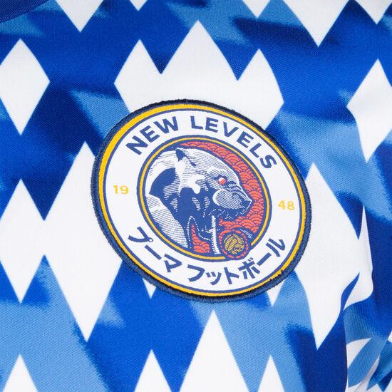 Showdown Fußballtrikot Herren, blau / weiß, zoom bei OUTFITTER Online
