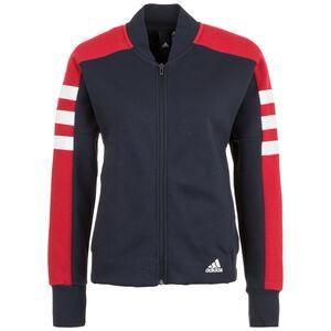 Sport ID Jacke Damen, blau / rot, zoom bei OUTFITTER Online