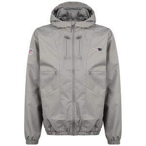 NFL New England Patriots Iconic Back To Basics Windbreaker Herren, grau, zoom bei OUTFITTER Online