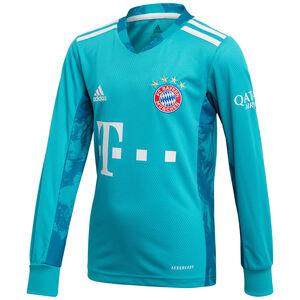 FC Bayern München Torwarttrikot 2020/2021 Kinder, grün / weiß, zoom bei OUTFITTER Online