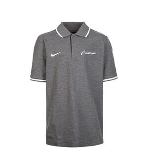 Mainova Club19 TM Poloshirt Kinder, grau / weiß, zoom bei OUTFITTER Online