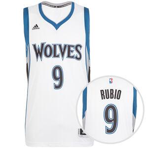 Minnesota Timberwolves Rubio Swingman Basketballtrikot Herren, Weiß, zoom bei OUTFITTER Online