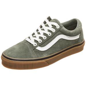 Old Skool Suede Sneaker, graugrün / braun, zoom bei OUTFITTER Online