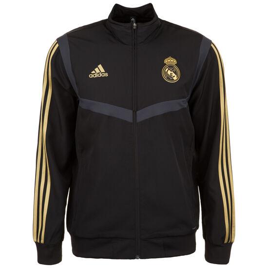 Real Madrid Präsentationsjacke Herren, schwarz / gold, zoom bei OUTFITTER Online