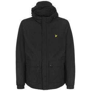 Hooded Pocket Jacke Herren, schwarz, zoom bei OUTFITTER Online