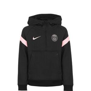 Paris St.-Germain Travel Fleece Kapuzenpullover Kinder, schwarz / rosa, zoom bei OUTFITTER Online