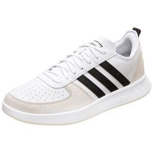 Court 80S Sneaker Herren, weiß / schwarz, zoom bei OUTFITTER Online