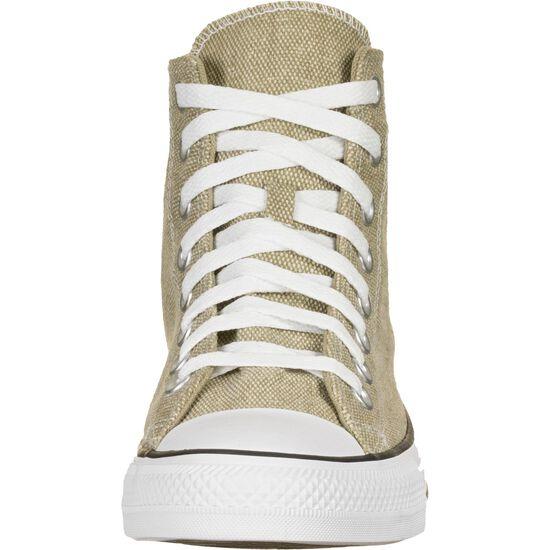 Chuck Taylor All Star High Sneaker, hellbraun / orange, zoom bei OUTFITTER Online