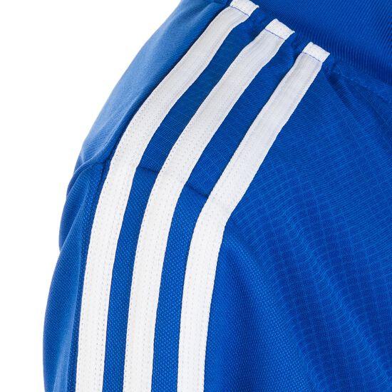 Tiro 19 Trainingsjacke Kinder, blau / weiß, zoom bei OUTFITTER Online