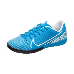 Mercurial Vapor XIII Academy Indoor Fußballschuh Kinder, blau / weiß, zoom bei OUTFITTER Online