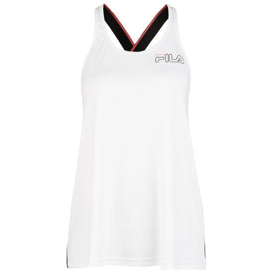 Adita Tanktop Damen, weiß / schwarz, zoom bei OUTFITTER Online