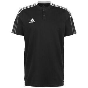 Tiro 21 Poloshirt Herren, schwarz / weiß, zoom bei OUTFITTER Online