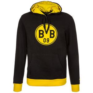 Borussia Dortmund Badge Kapuzenpullover Herren, Schwarz, zoom bei OUTFITTER Online