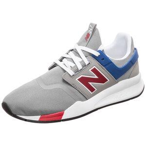 MS247-D Sneaker Herren, grau / rot, zoom bei OUTFITTER Online