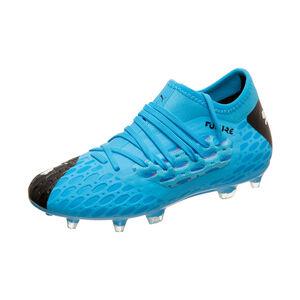 Future Netfit 5.3 FG/AG Fußballschuh Kinder, blau / schwarz, zoom bei OUTFITTER Online