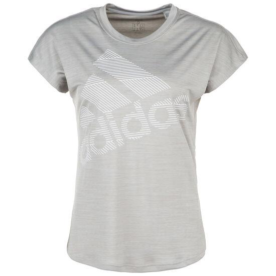 Badge of Sport Trainingsshirt Damen, grau, zoom bei OUTFITTER Online