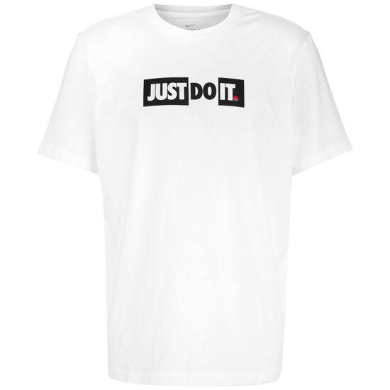 Just Do It Bumper T-Shirt Herren, weiß / schwarz, zoom bei OUTFITTER Online