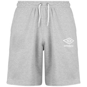 Knee Length Fleece Trainingsshort Herren, grau, zoom bei OUTFITTER Online