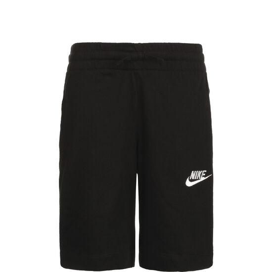 Jersey Short Kinder, schwarz / weiß, zoom bei OUTFITTER Online