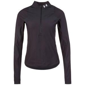 Qualifier Half Zip Laufshirt Damen, schwarz, zoom bei OUTFITTER Online