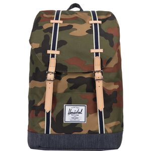 Retreat Rucksack, camouflage / blau, zoom bei OUTFITTER Online